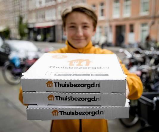 네덜란드에서 배달음식 시켜먹기, thuisbezorgd.nl