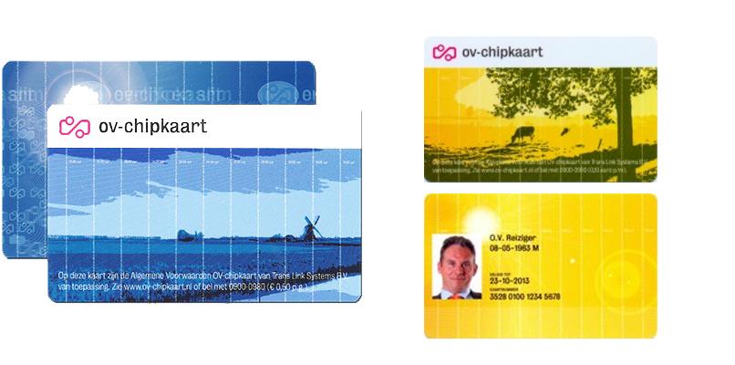 네덜란드 대중교통의 티머니, OV-chipkaart (OV칩카드)