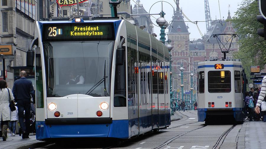 네덜란드 대중교통 – 트램 이용하는 법
