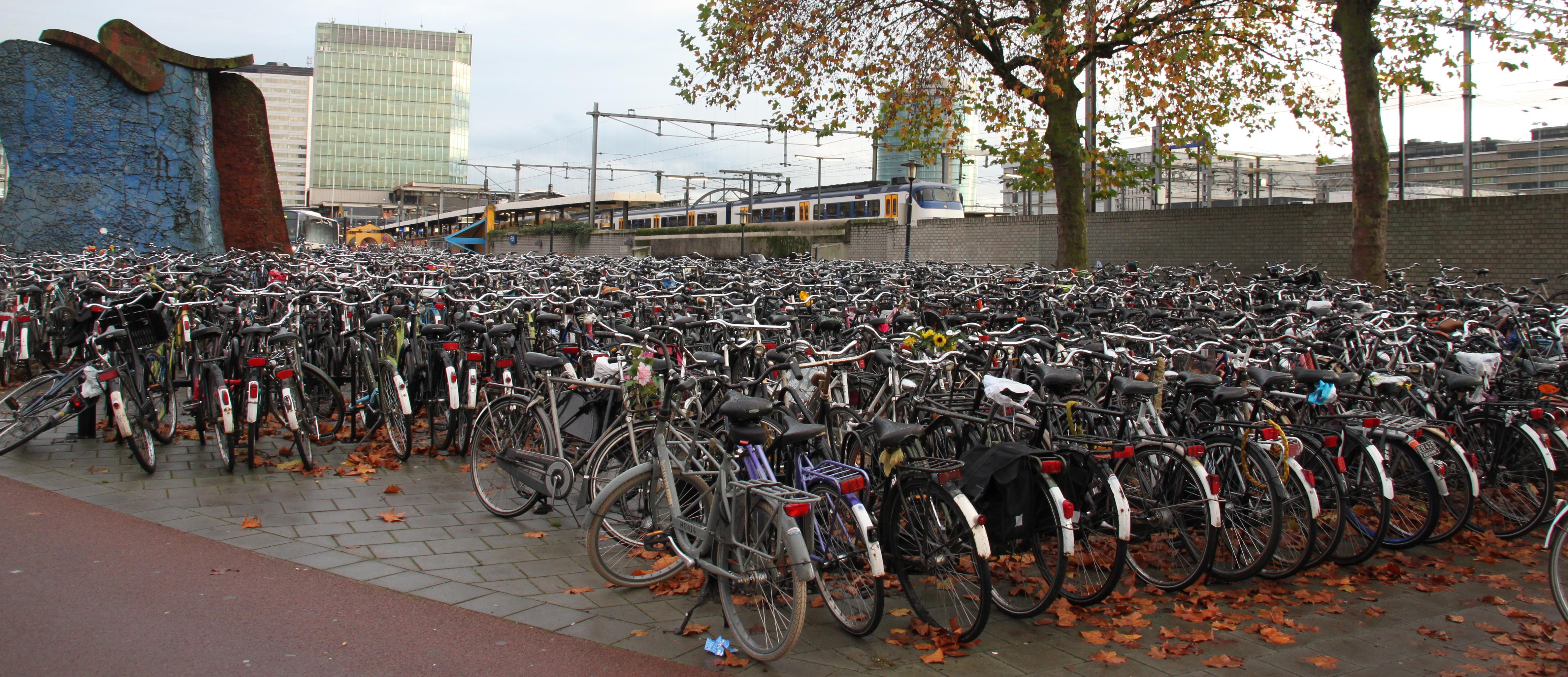 Fietsen_Utrecht_Centraal