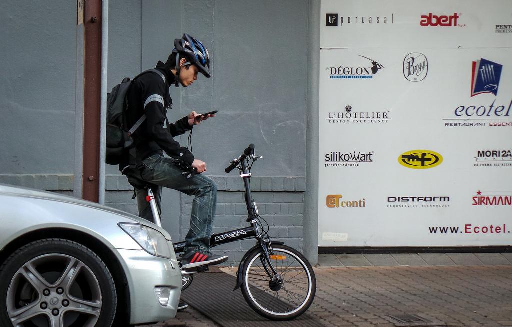 2019년 7월 1일부터 네덜란드에서 자전거 타는 중 핸드폰 사용이 금지됩니다.