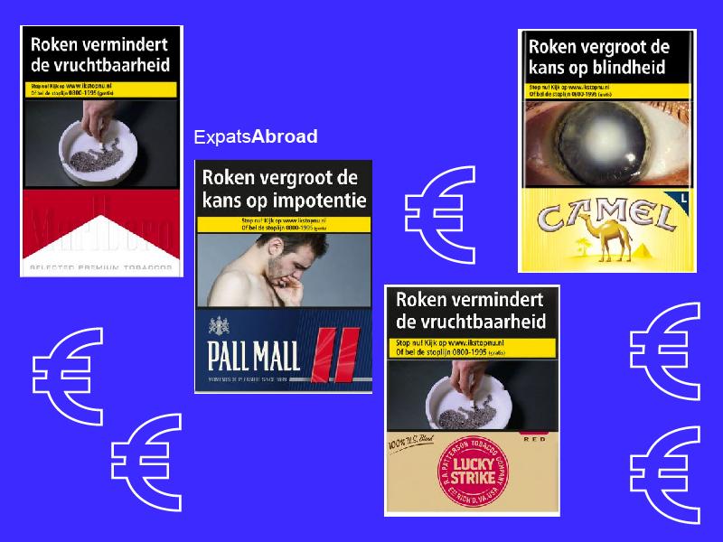 네덜란드에서 구매할 수 있는 담배 종류와 가격