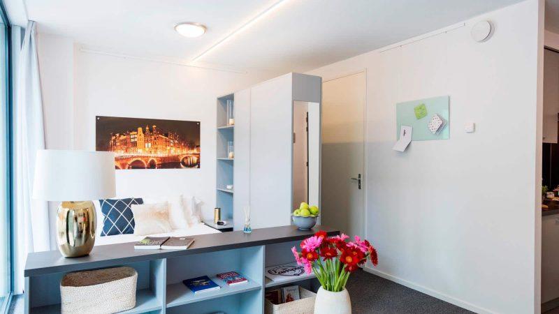 네덜란드 암스테르담, 직장인들과 학생들을 위한 단기 스튜디오 Our Domain (Diemen Campus에서 변경)