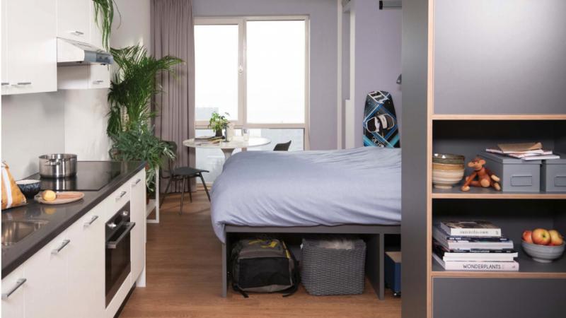 집 구하기가 하늘에 별따기 같은 네덜란드 암스테르담에서 단기 스튜디오가 필요하다면!! 직장인과 학생들을 위한 OurDomain (입주 완료)