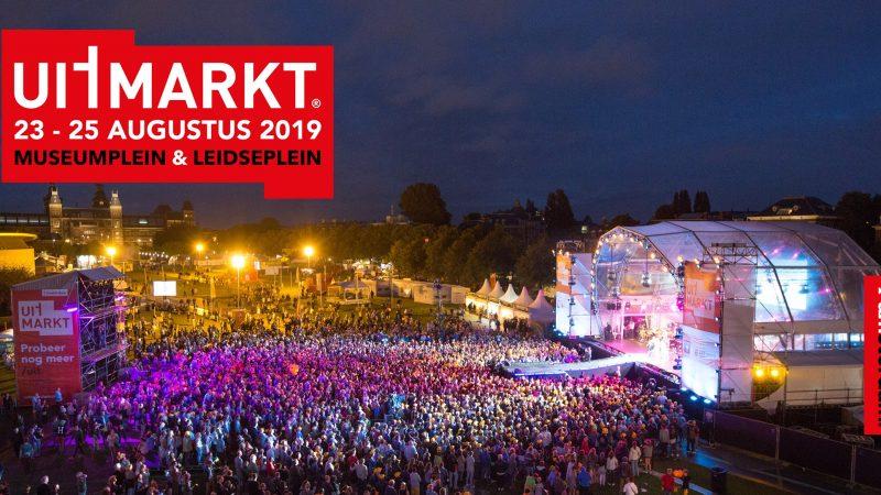 이번주말 기대되는 암스테르담 무료 페스티벌, Uitmarkt 2019 (8월 23-25일)