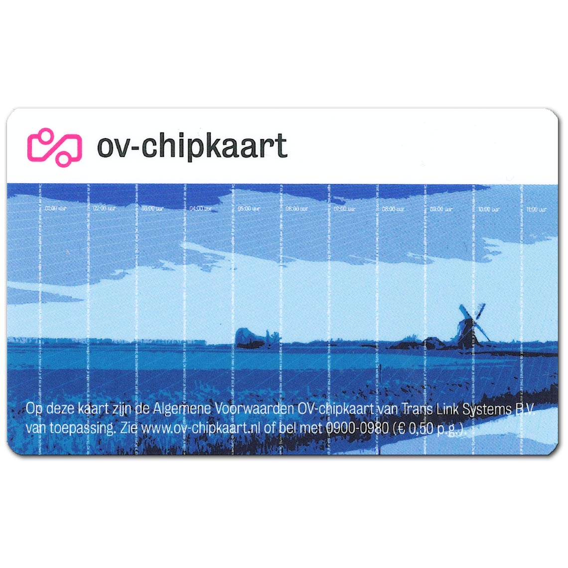 OV-chipkaart-Anoniem-Voorkant