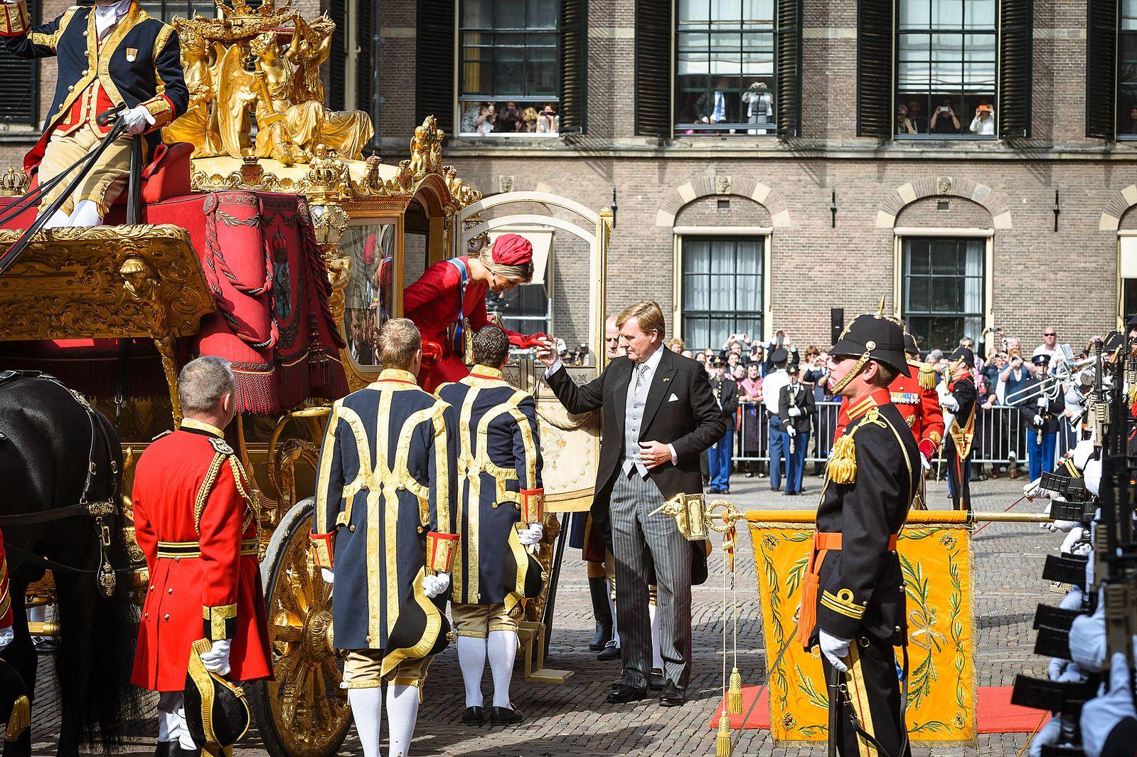 이번주 화요일 (9월 17일), Prisjesdag 네덜란드의 왕을 볼 수 있는 루트