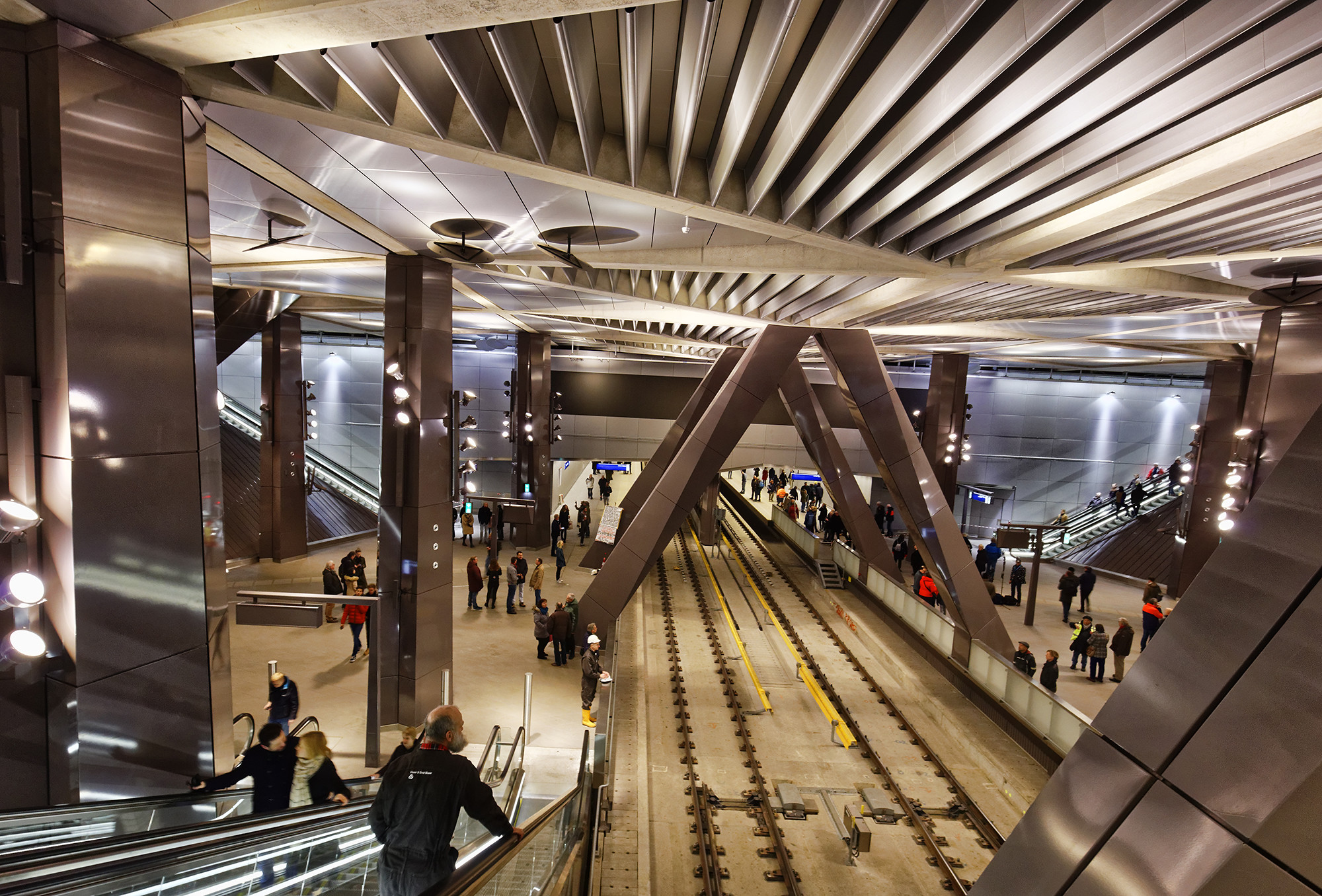 암스테르담 센트럴에서 스키폴 공항까지 가는 지하철이 2023년 개통될 예정!