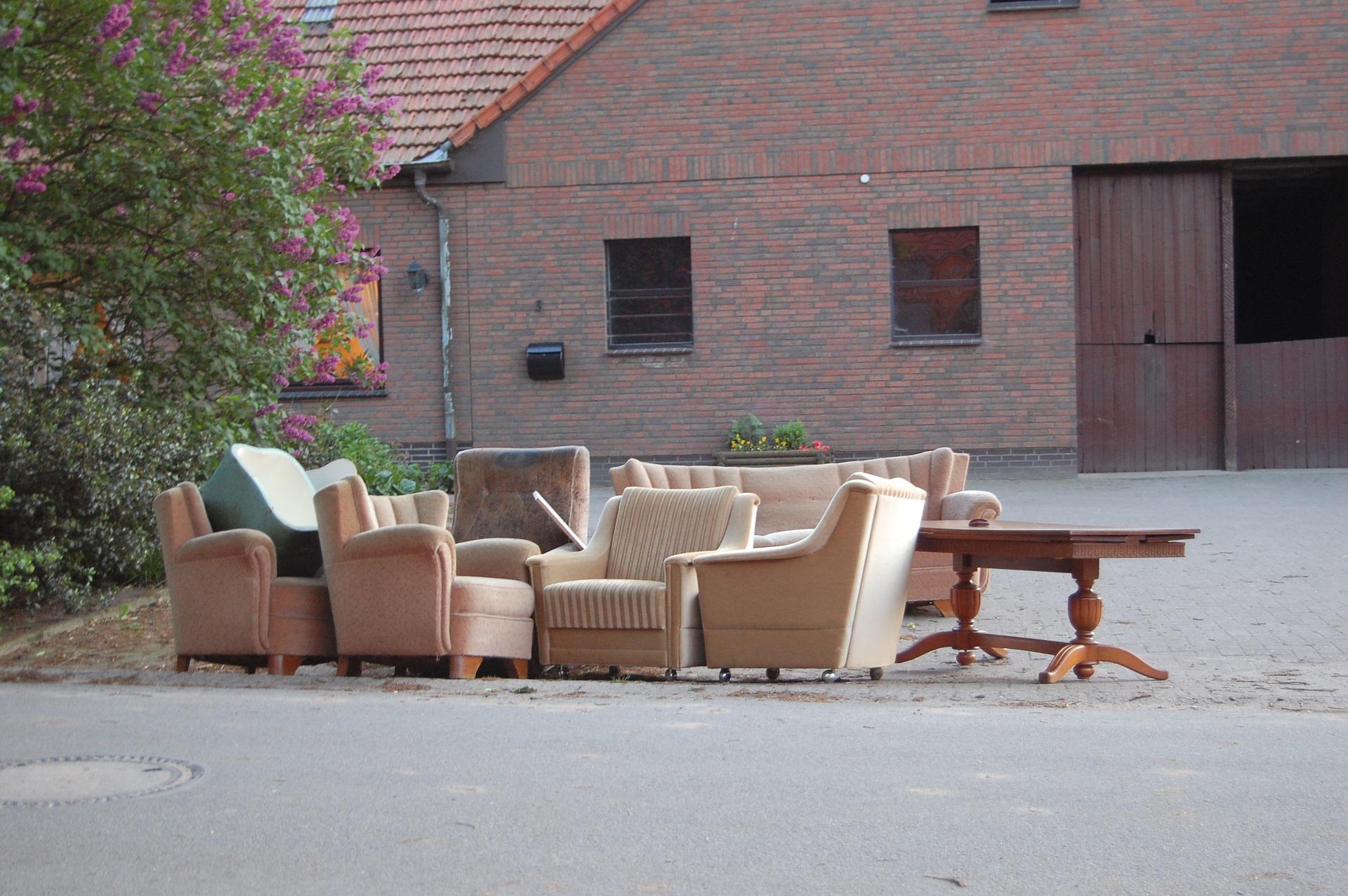 네덜란드에서 가구 등 큰 쓰레기 무료로 버리는 법